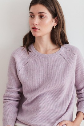Velvet by Graham & Spencer Dora Cashmere Crew Neck Sweater