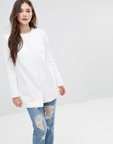 Helene Berman White Topper Jacket