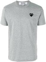 Comme des Garcons heart patch T-Shirt - men - Cotton - S