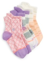 Stance Infant Girl's Pop Assorted 3-Pack Socks