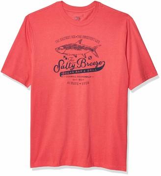 Izod Men's Big & Tall Big and Tall Short Sleeve Graphic T-Shirt