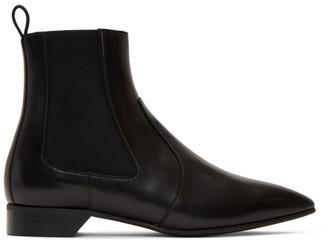 Pierre Hardy Black Leather Alpha Rocket Boots
