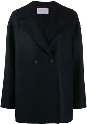 Harris Wharf London Oversized-Fit Wool Jacket