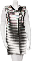 Bouchra Jarrar Striped Long Vest w/ Tags