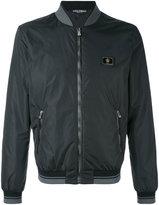 Dolce & Gabbana classic bomber jacket - men - Sheep Skin/Shearling/Polyamide/Polyester - 46