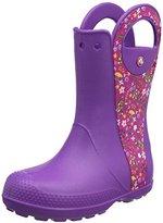 Crocs Kids' Handle It Graphic Rain Pull-On Boot