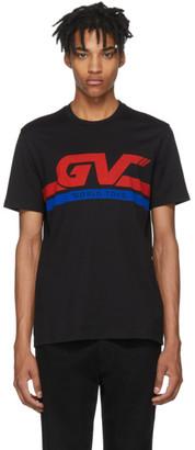 Givenchy Black GV World Tour Jersey T-Shirt