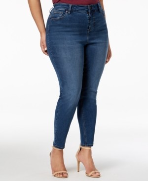 Celebrity Pink Plus Size High-Rise Skinny Ankle Jeans