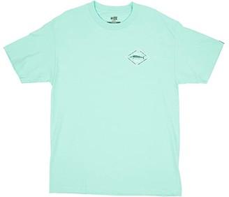 Salty Crew Hotwire Short Sleeve Tee (Sea Foam) Men's Clothing