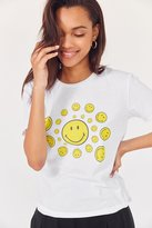 Urban Outfitters Smile Spiral Short Sleeve Tee