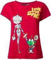 Love Moschino 'love in space' T-shirt
