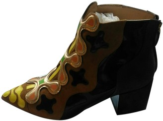 Nicholas Kirkwood Multicolour Suede Ankle boots