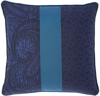 "Etro Pieced Decorative Pillow, 18""Sq."