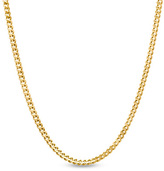 Zales 14K Gold 1.0mm Gourmette Chain Necklace - 18""