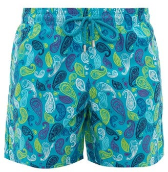 Vilebrequin Moorea Paisley-print Swim Shorts - Blue Multi