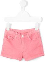 Knot - twill shorts - kids - Cotton/Spandex/Elastane - 3 yrs