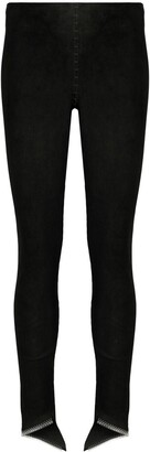 Isaac Sellam Experience Skinny Leather Trousers