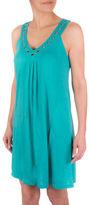 Point Zero Grommet Cover-Up Dress