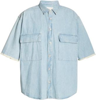 Fear Of God Denim Button Up Shirt