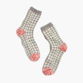 Madewell Plaid Trouser Socks