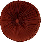 "J Queen New York Rosewood Burgundy 15"" x 4"" Round Decorative Pillow"