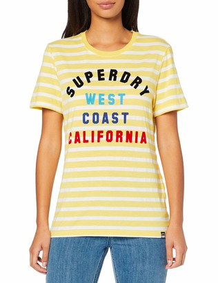 Superdry Women's West Coast Entry Tee T-Shirt