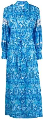 Ava Adore Floral Print Shirt Dress