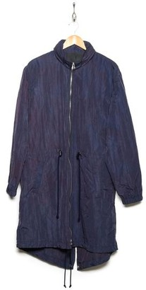 Band Of Outsiders Tie Dye Nylon Parka Navy - L