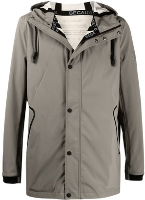 Ecoalf Hooded Single Breasted Coat