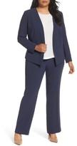Sejour Plus Size Women's Cutaway Blazer