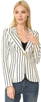 Smythe Striped Duchess Blazer
