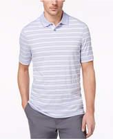 Tasso Elba Men's Supima Blend Striped Polo, Created for Macy's