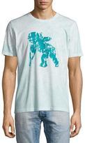 PRPS Flocked Cherub Logo T-Shirt