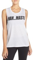 Private Party Women's 'Nah...maste' Muscle Tank