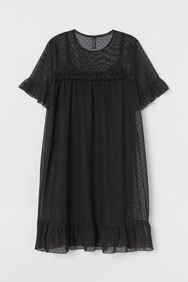 H&M Short Mesh Dress - Black