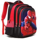 YOURNELO Boy's Cool 3D DC Comics Marvel's The Avengers School Backpack
