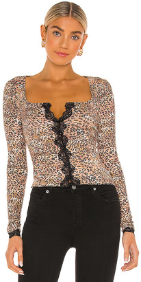 Free People She's All that Layering Top