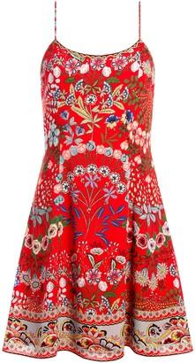Alice + Olivia Ira Floral Mini Dress