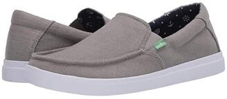 Sanuk Sideline Linen 2 (Grey) Men's Shoes