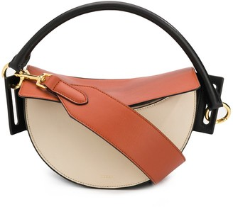 Yuzefi round handle tote bag