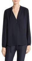 Theory Women's Bernetta Silk Blouse