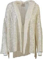 Nude Knitted Open Cardigan