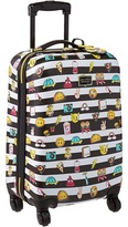 Betsey Johnson Emoji 3 Small Carry-On Luggage Carry on Luggage