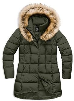 The North Face The North Face? Dealio Faux Fur Trim Down Parka