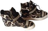 Giuseppe Zanotti Leopard print Leather Trainers