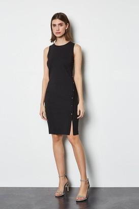 Karen Millen Popper Detail Dress
