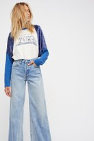 Levi's Altered Wide Leg Jeans by at Free People