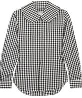 Comme des Garcons Gingham Cotton-poplin Shirt - Black