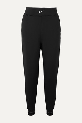 Nike Pro Fleece Track Pants - Black