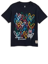 Psycho Bunny Boy's Goldcrown Graphic T-Shirt